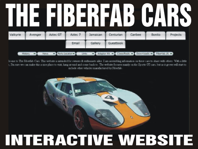The Fiberfab Cars Website